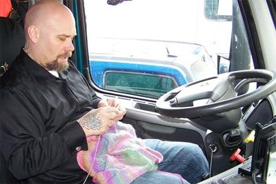 12 26 13 Trucker Knitter