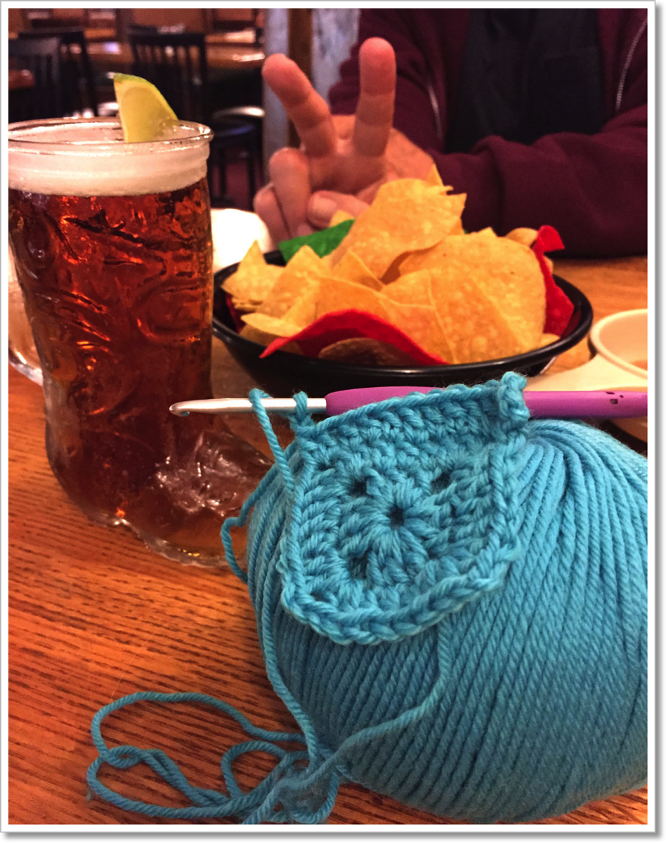 Dinner and Crochet