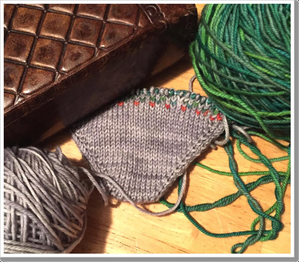 Dec 4 scrap sock