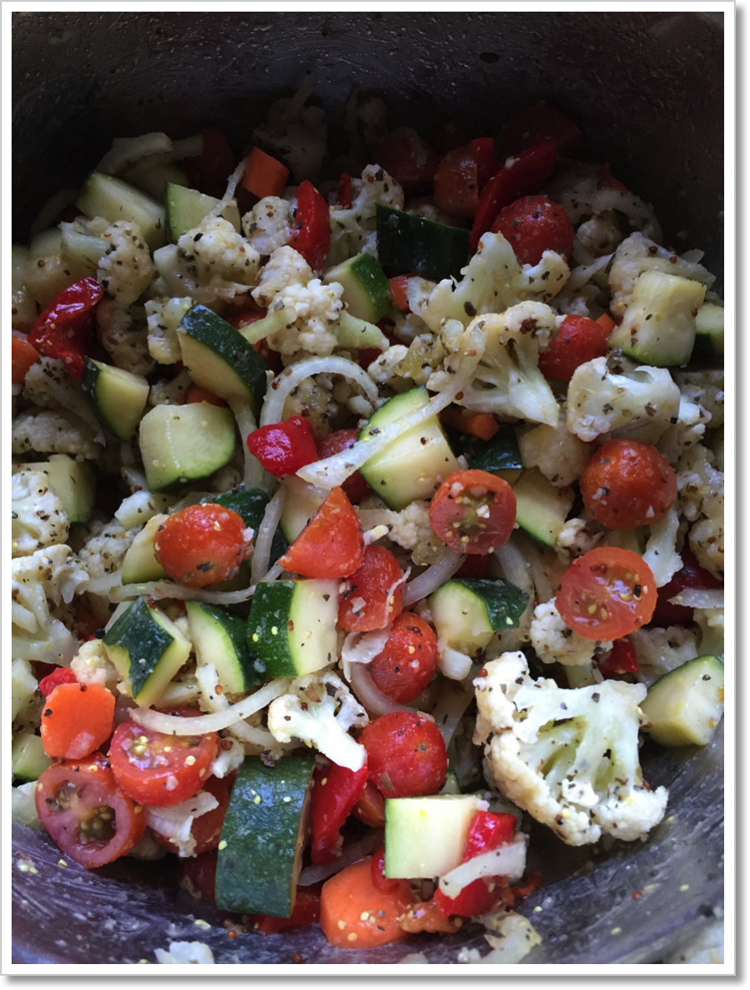 Cauliflour Salad