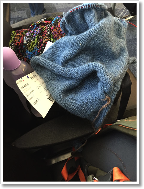 Airport-Knitting