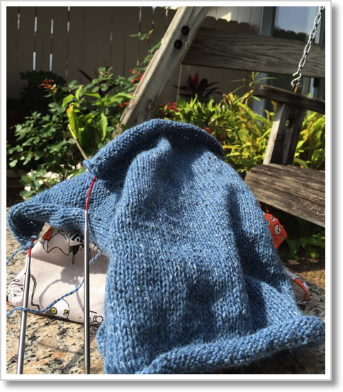 Patio-Knitting